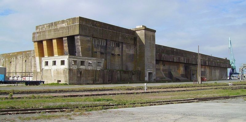 Бункер «Ла-Паллис» в наши дни.