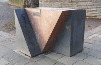 г. Кёльн. Памятник жертвам нацизма - геям и лесбиянкам.