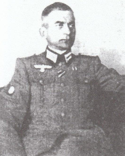 Гауптштурмфюрер СС Семенов М.А.