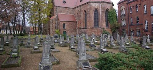 г. Йютербог. Советское военное кладбище, где захоронено останки 131 советского воина.