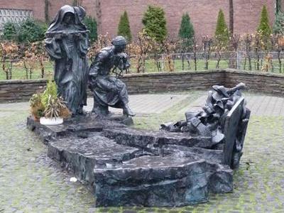 г. Кёльн. Памятник Эдит Штайн – жертве Холокоста.