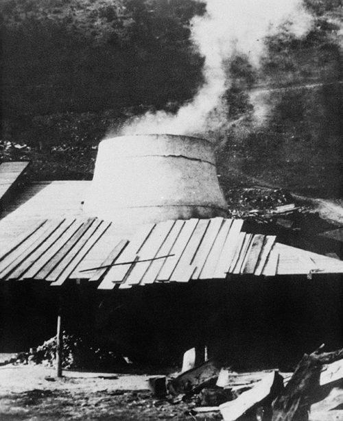 Место казни 900 словацких патриотов 4-11 января 1945 года.