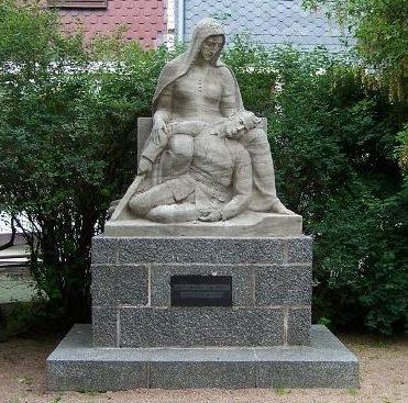 г. Броттероде. Памятник землякам, погибшим в обеих мировых войнах.