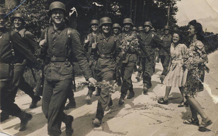 Латвийские легионеры. 1944 г.