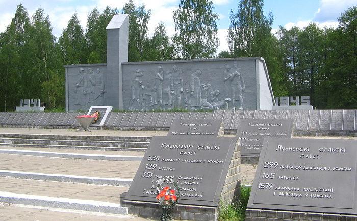 д. Щара Мостовского р-на. Мемориал героям-землякам и жертвам фашизма.