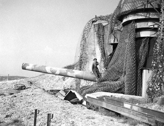 305-мм орудие батареи «Friedrich August».