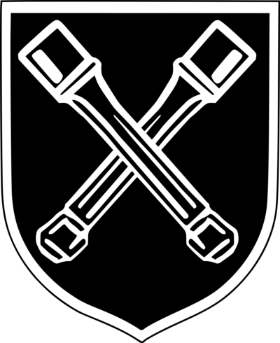 Знак 36-й дивизии СС.