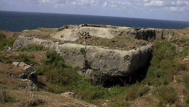 Бункеры острова.