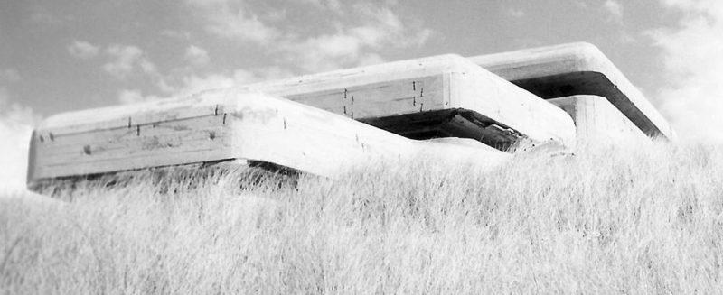 Bunker a Gironde-ban.  1944 g.