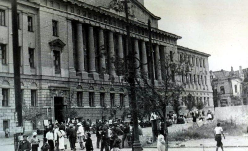 Биржа труда. Август 1942 г.