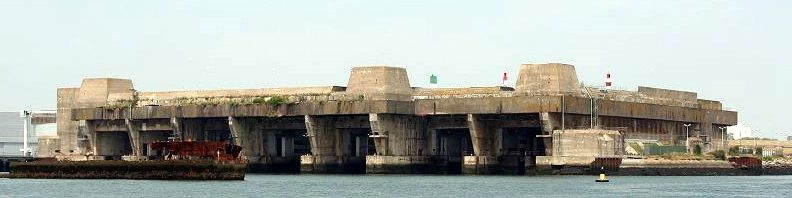 Бункер «Keroman III» сегодня.