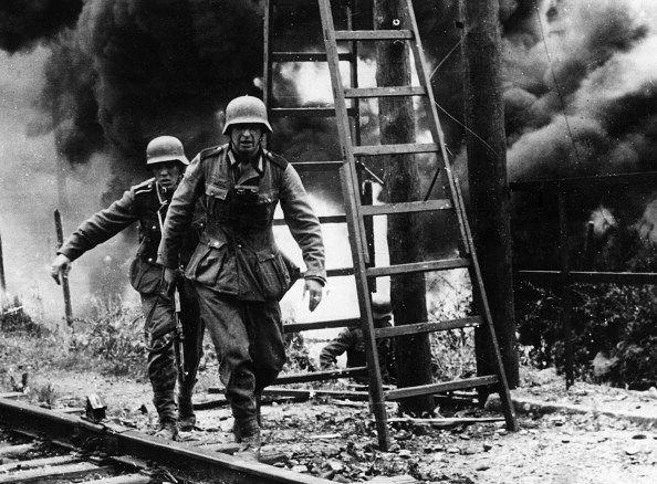 Бои за город. Октябрь 1944 г.
