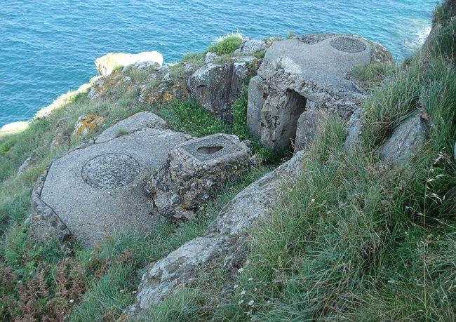 Укрепления Пуэнт-де-ла-Гард-Кёрин.