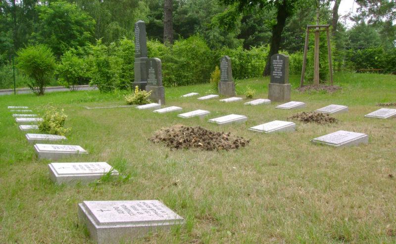 г. Луккенвальде. Мемориал на месте концлагеря «Stalag III A», где погибли более 5 тысяч заключенных.