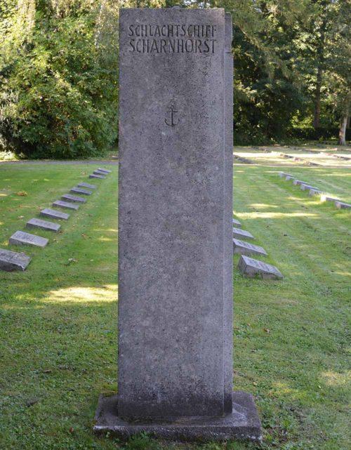 г. Киль. Памятник, погибших членам экипажа линкора «Шарнхорст».