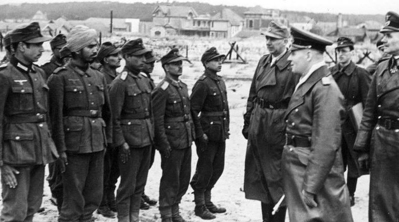 Роммель с инспекцией в Жиронде. 1944 г.