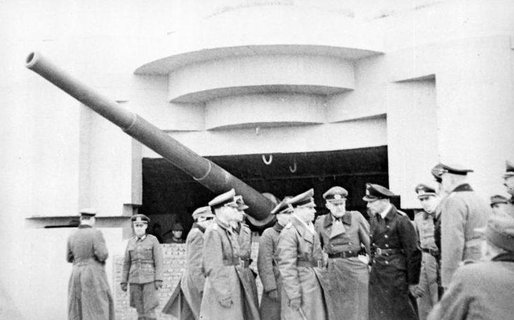 Роммель с инспекцией в Пиренеях. 1944 г.