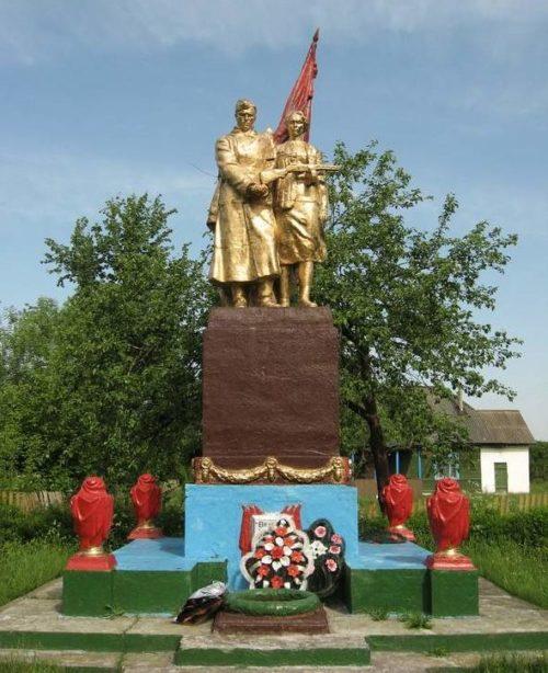 д. Охоново Новогрудского р-на. Памятник советским воинам.