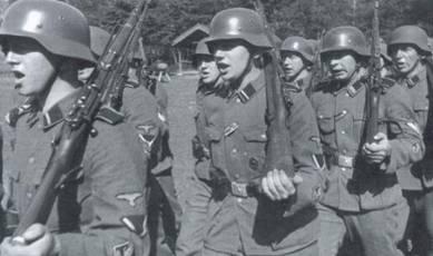 Финские добровольцы СС.