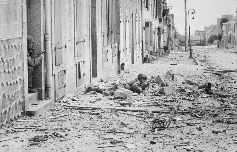 Городские бои. 9 сентября 1944 г.