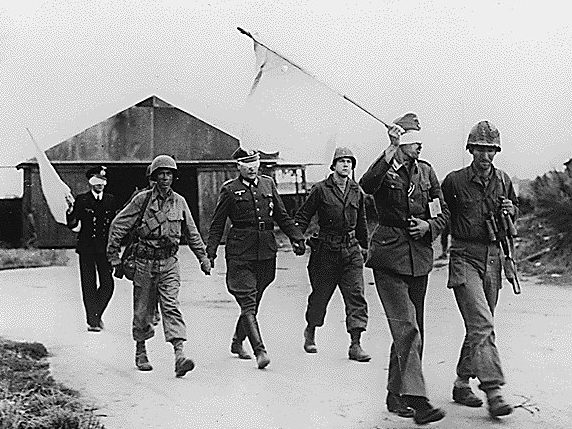 Капитуляция гарнизона. 19 сентября 1944 г.