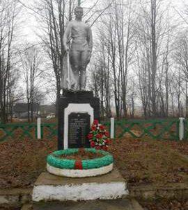 д. Клевица Ошмянского р-на. Памятник воинам-землякам, погибшим в годы войны.