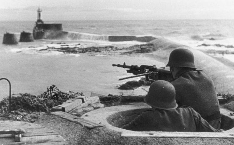 Wanda parti erődítményei.  1944 g.