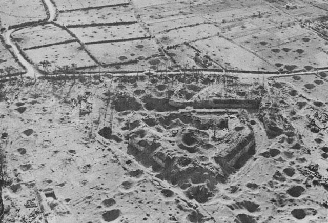Остатки форта Keranroux.