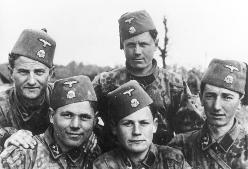 Солдаты 13-й дивизии СС «Ханджар».