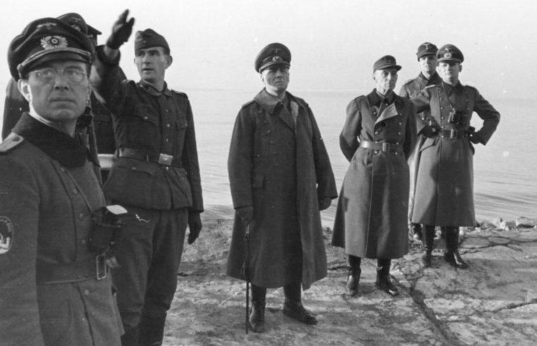 Роммель в Нормандии. Январь, 1944 г.