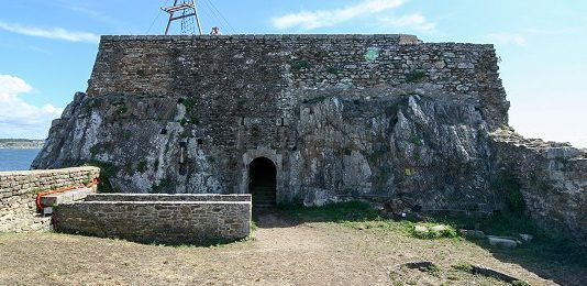Сооружения форта «Bertheaume».