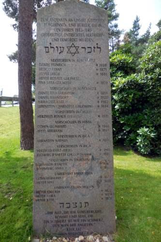 г. Хальтерн-ам-Зе. Памятник жертвам Холокоста.