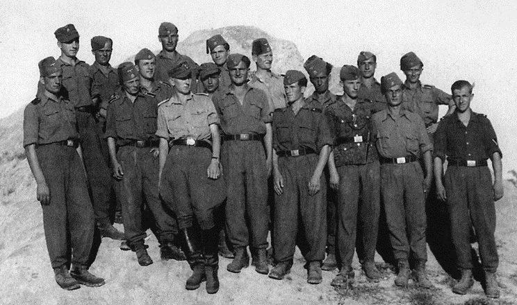 Солдаты дивизии.