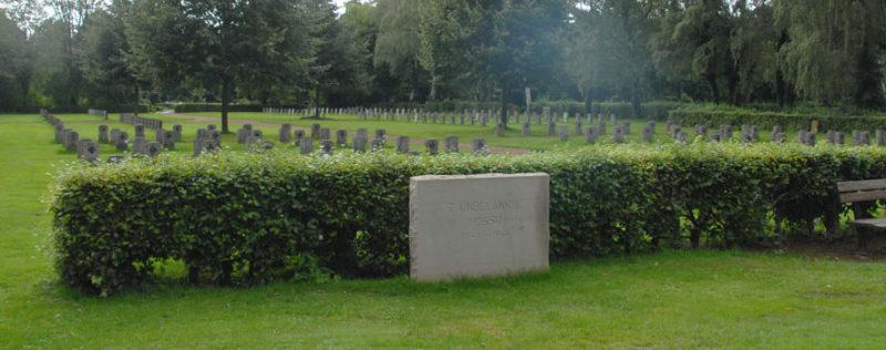 г. Хамм. Братская могила советских воинов на городском кладбище.