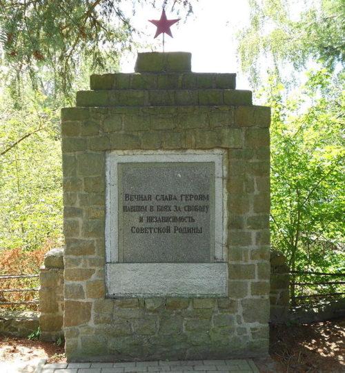 г. Ораниенбург с. Бернове. Памятник советским воинам.