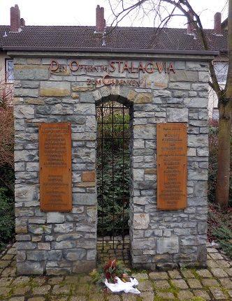 г. Хемер. Памятник на месте концлагеря «Stalag VI A», где погибли 23,9 тысяч заключенных.