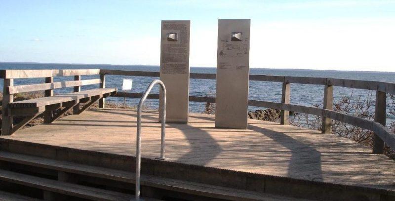 г. Нойштадт-ин-Хольштайн. Памятник жертвам затонувших кораблей.