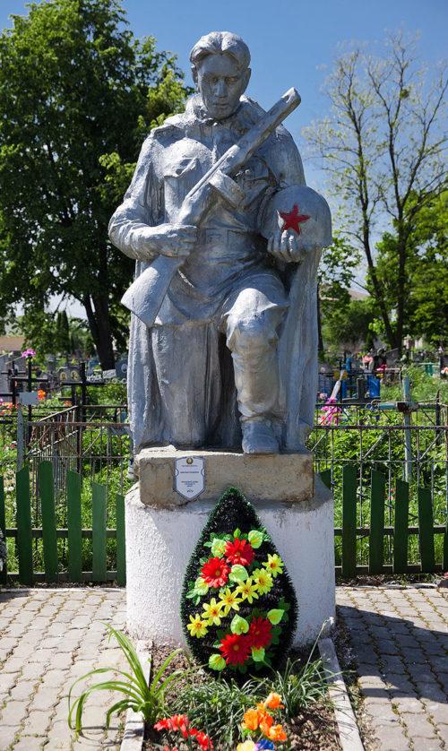 г. Туров Житковичского р-на. Братская могила пяти неизвестных советских воинов.