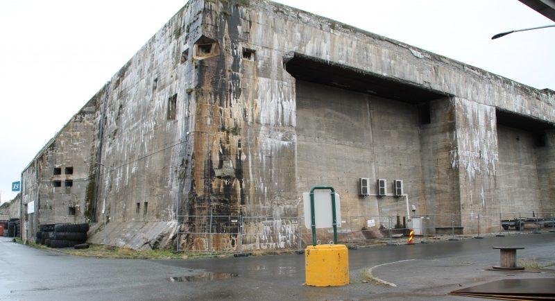 Вид на недостроенный бункер «Dora 2».