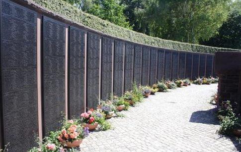 Коммуна Хайкендорф. Мемориал немецким подводникам, погибшим в обеих мировых войнах.