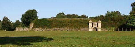 Сооружения форта «Questel».