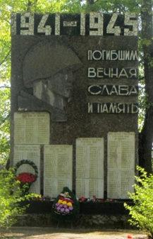 д. Доброгоща Жлобинского р-на. Памятник погибшим землякам.