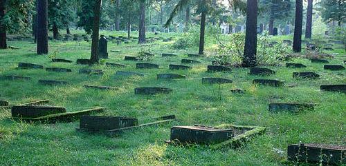 г. Потсдам. Воинское кладбище, где захоронено 2 829 советских воинов.