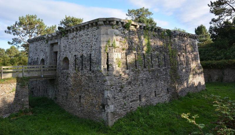 Сооружения форта «Pointe des Espagnols».