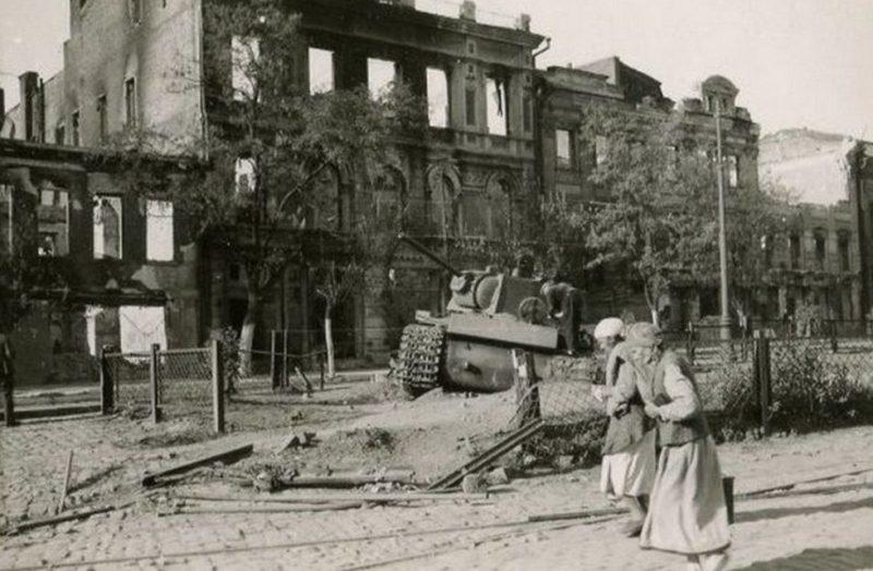 Город в оккупации. Осень 1942 г.