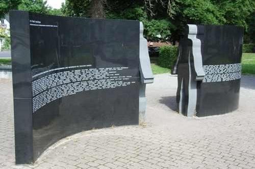 г. Юлих. Памятник жертвам Холокоста.