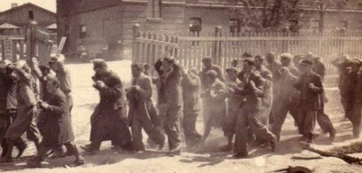 Пленные партизаны. Осень 1942 г.