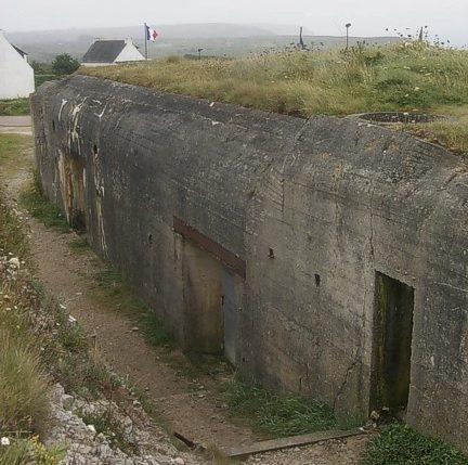 Сооружения форта «Pointe du Grand Gouin».
