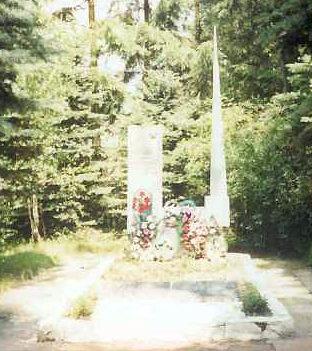 д. Озерница Слонимского р-на. Братская могила советских воинов.