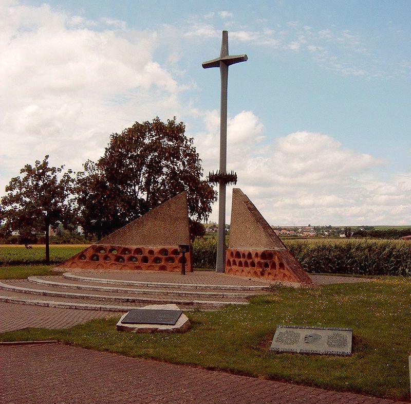 г. Бад-Кройцнах. Памятник на месте бывшего лагеря для военнопленных.
